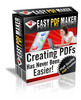 Thumbnail Easy PDF Maker - the best way to make money