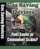 Gas Saving Devices - Huge Money Saver