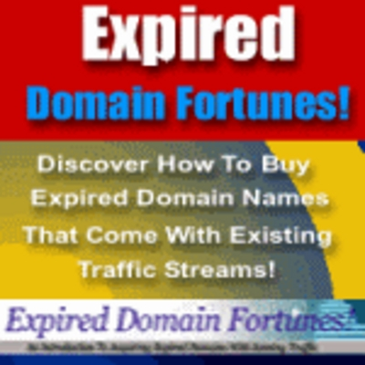 Product picture Expired Domains Fortunes - Make Money with Domain Names